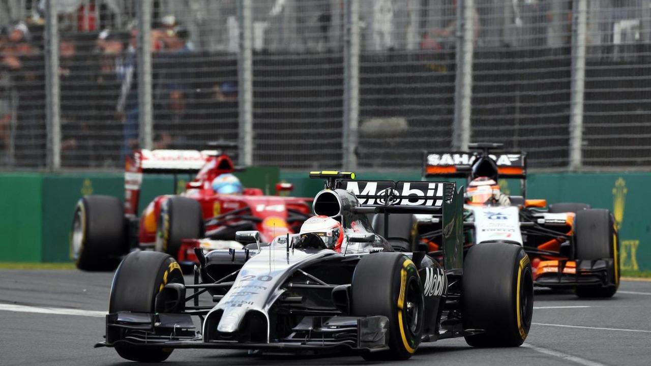 Kevin Magnussen (DEN) McLaren MP4-29, 2014 Australian Grand Prix