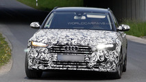 2015 Audi A6 & A6 Avant spied with new Matrix LED headlights