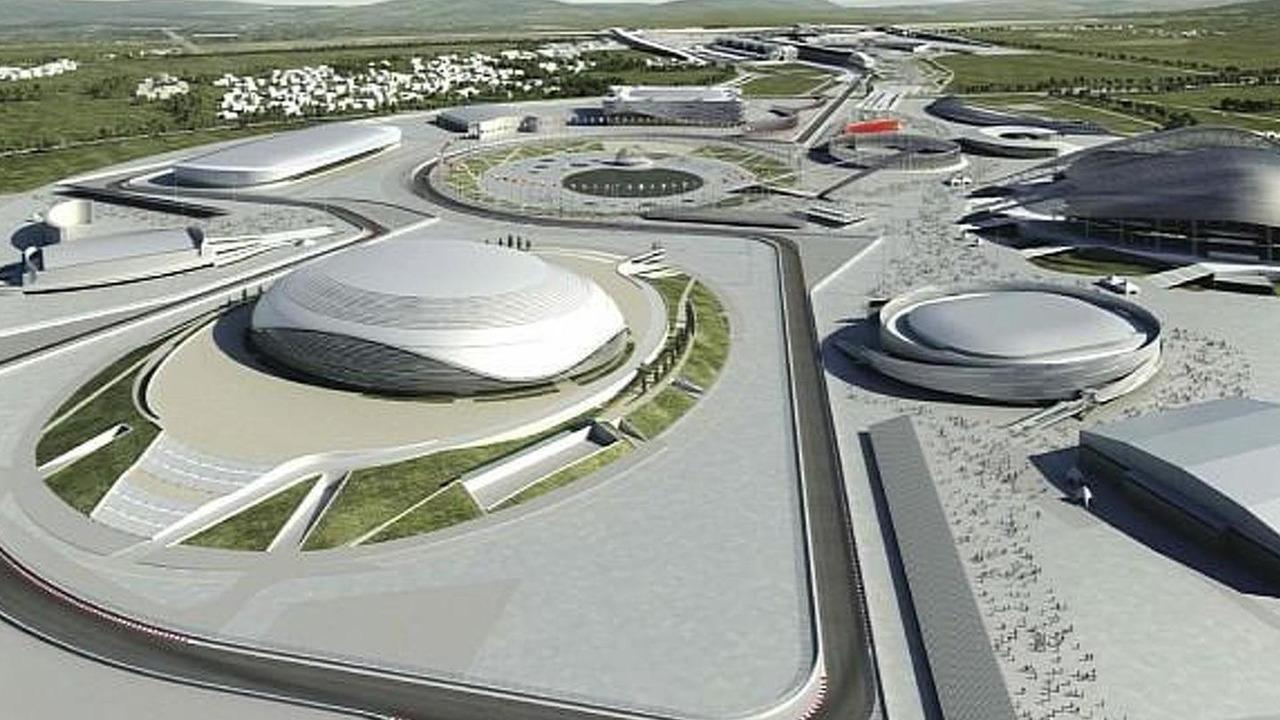 Sochi Formula 1 circuit