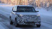 Kia Soul EV spied as company confirms the model will debut in Chicago