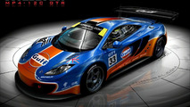 McLaren MP4-12C with Gulf livery artist rendering - 1280