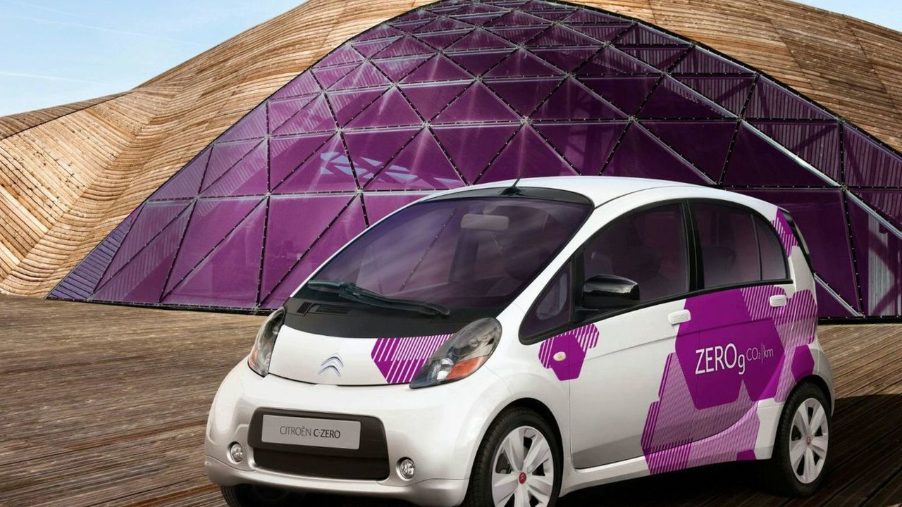 Citroen C-ZERO electric vehicle
