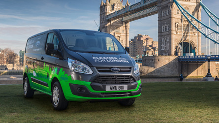 Ford Transit plug-in hybrid confirmed for 2019, London trials begin