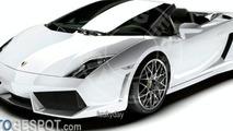 Lamborghini LP560-4 Spyder Renderings