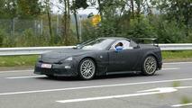 Lexus LF-A Spider Spy Photos at Nürburgring