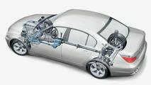 BMW 5 Series sedan with xDrive drivetrain