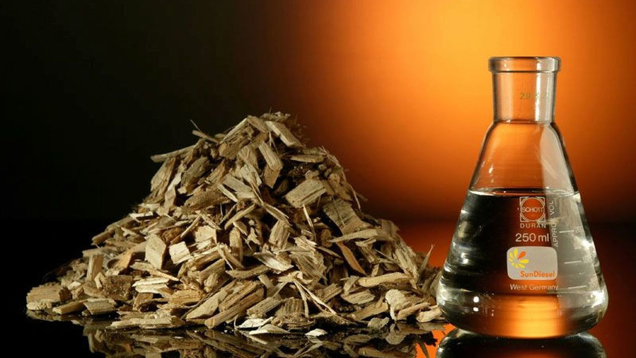 Wood chippings used to produce SunDiesel