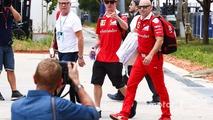 Kimi Raikkonen at Singapore GP