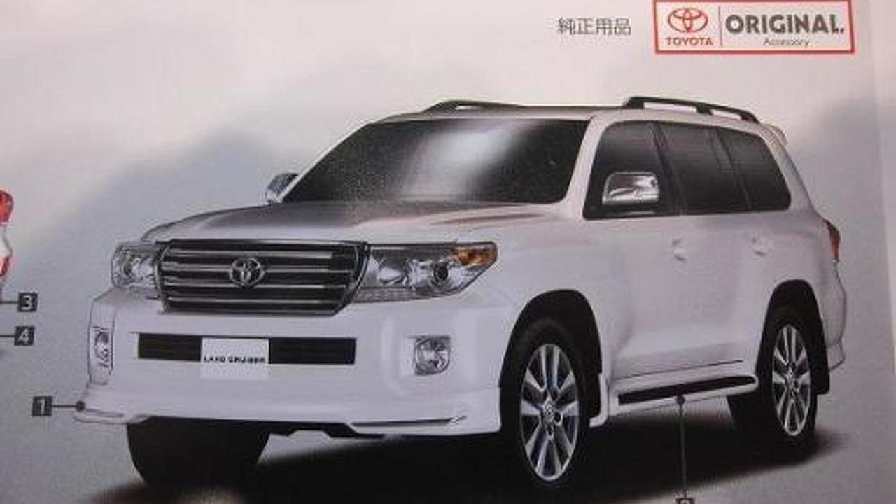 Toyota Land Cruiser facelift leaked? - 1.12.2011