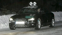 2009 Audi S4 spied in Sweden