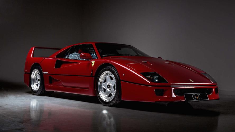 Ferrari F40 que foi de Eric Clapton está à venda