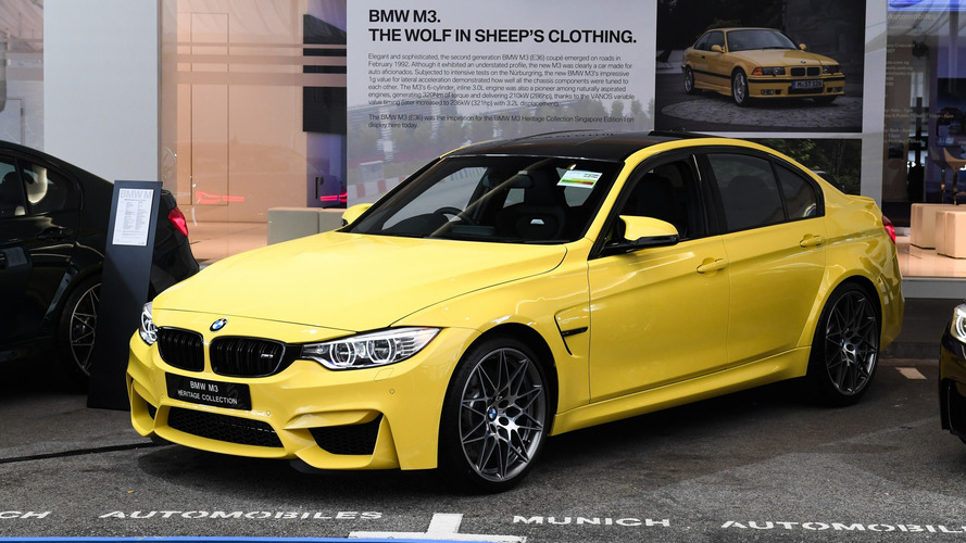 BMW M3 Heritage Collection debuts with Competition Package