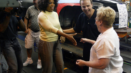Oprah's famous car giveaway