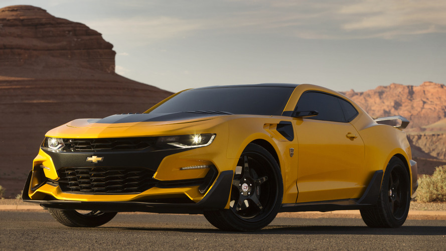 Restyled Bumblebee revealed as Transformers 5 goes into production