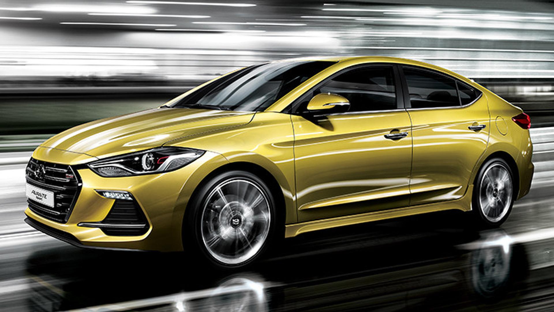 Say hello to the 2017 Hyundai Elantra Sport with 200 hp