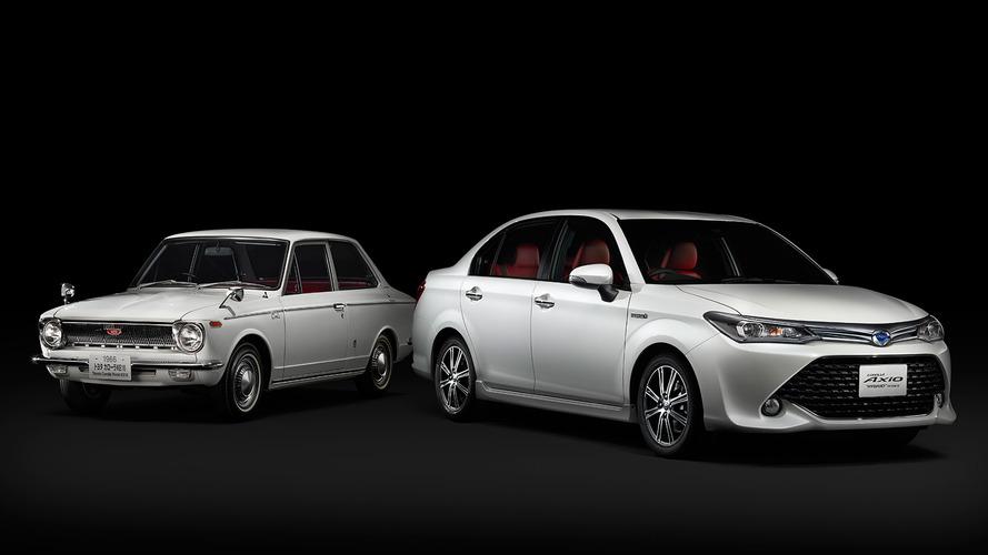 Toyota Corolla celebrates 50th anniversary with Axio '50 Limited' edition