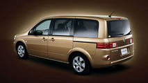 Revised Nissan Lafesta Minivan