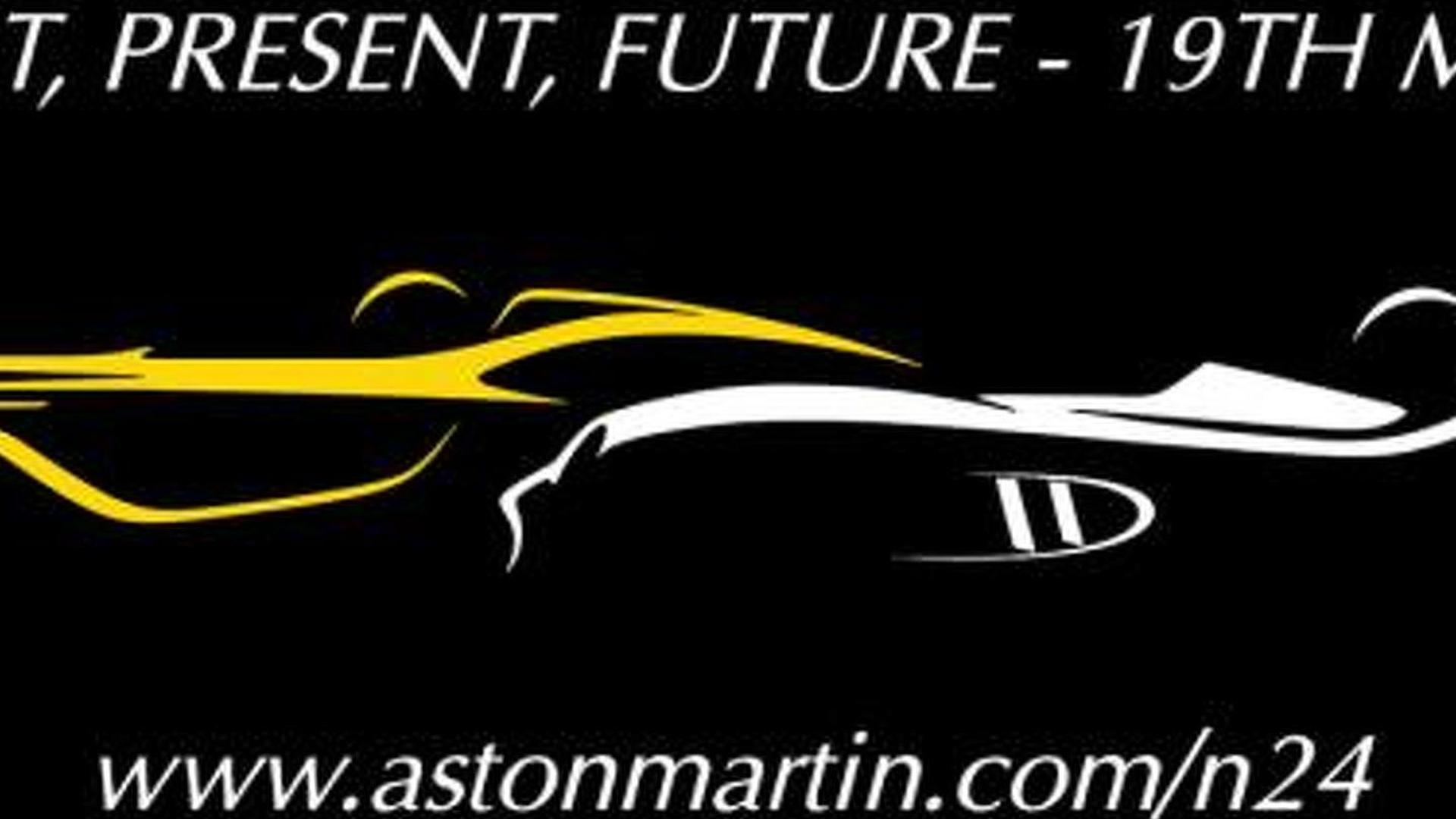Aston Martin CC100 concept teased for the Nürburgring 24 Hours