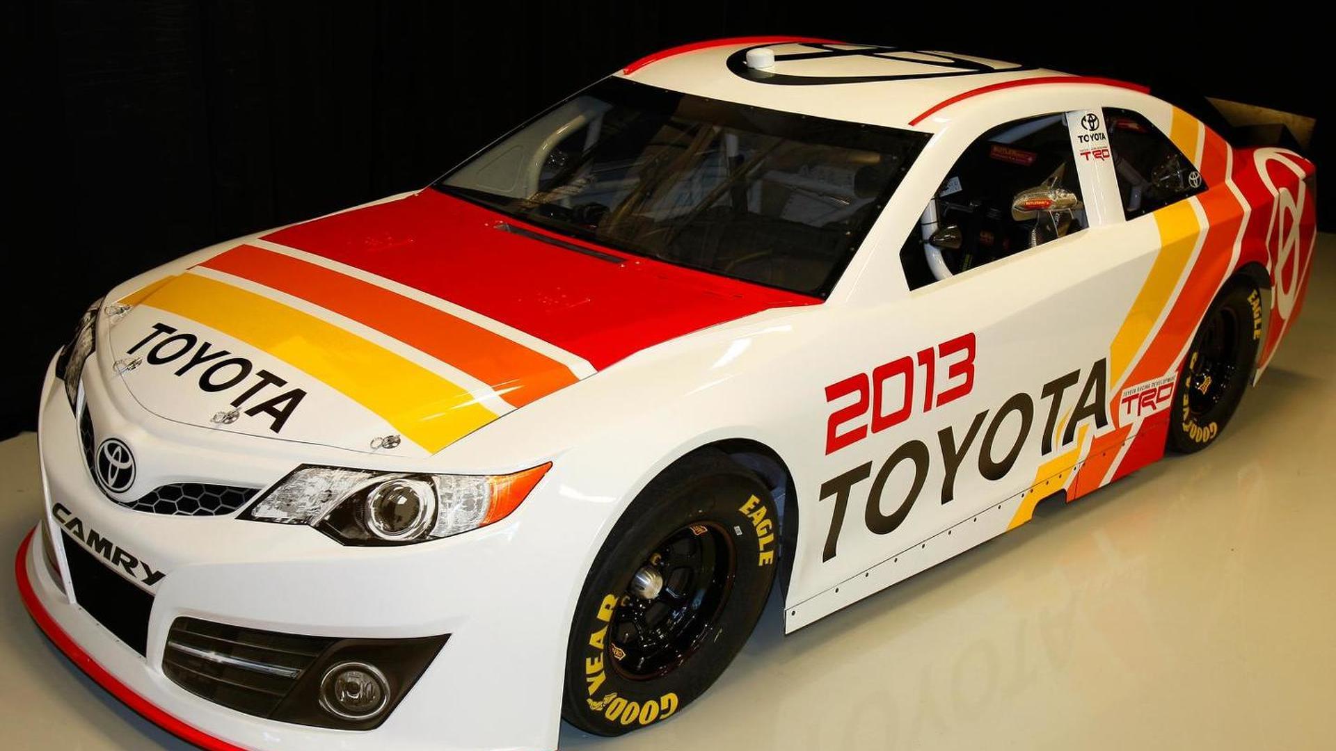 Toyota reveals 2013 NASCAR Sprint Cup Series Camry