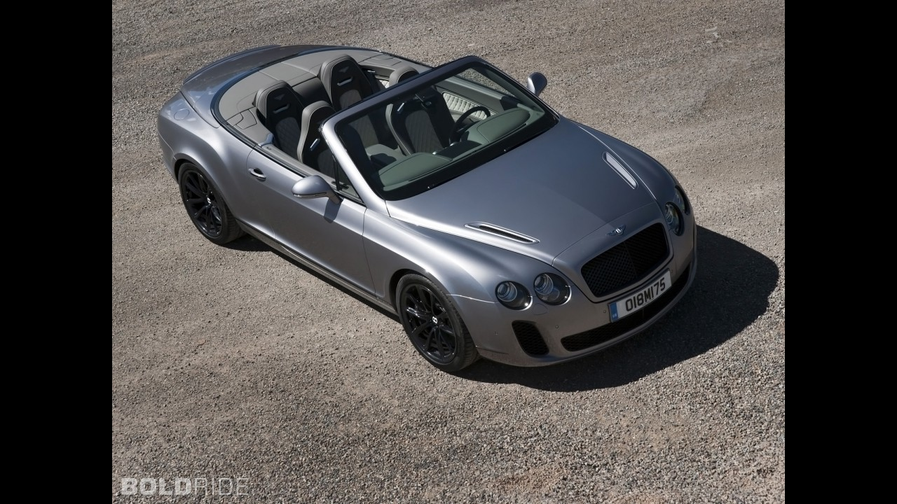Bentley Continental Supersports Convertible