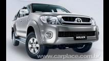 Nova Hilux 2009 - Toyota da Malásia revela imagem da pick-up reestilizada