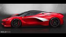 Ferrari LaFerrari XFX Concept by Alessandro Puddinu