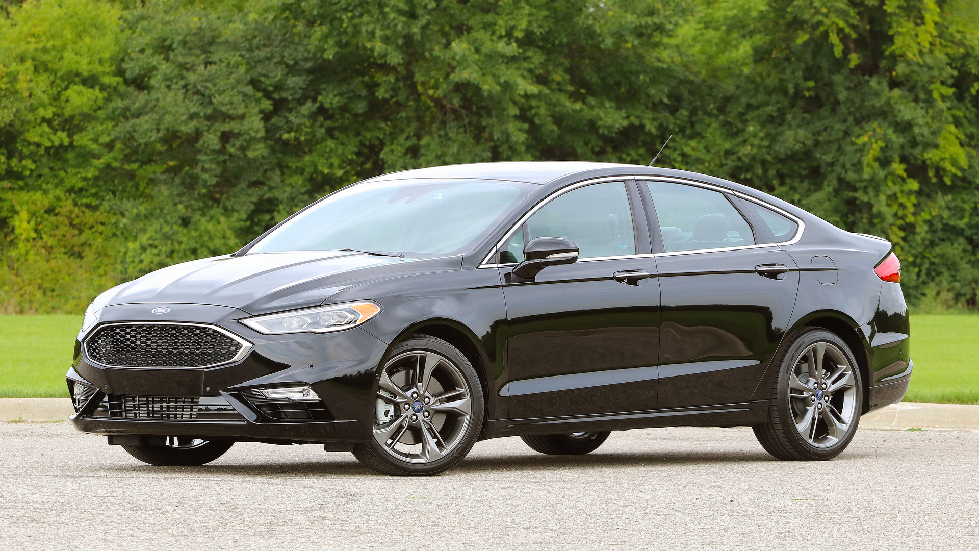 Ford Fusion Ecoboost >> First Drive: 2017 Ford Fusion V6 Sport