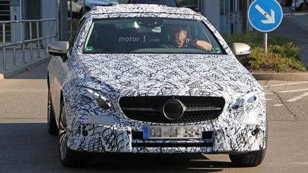 2018 Mercedes E-Class Convertible spy photos