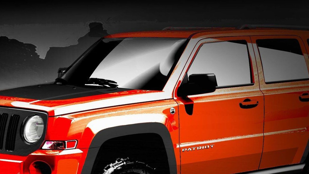 Jeep Patriot Extreme design sketch 15.03.2010