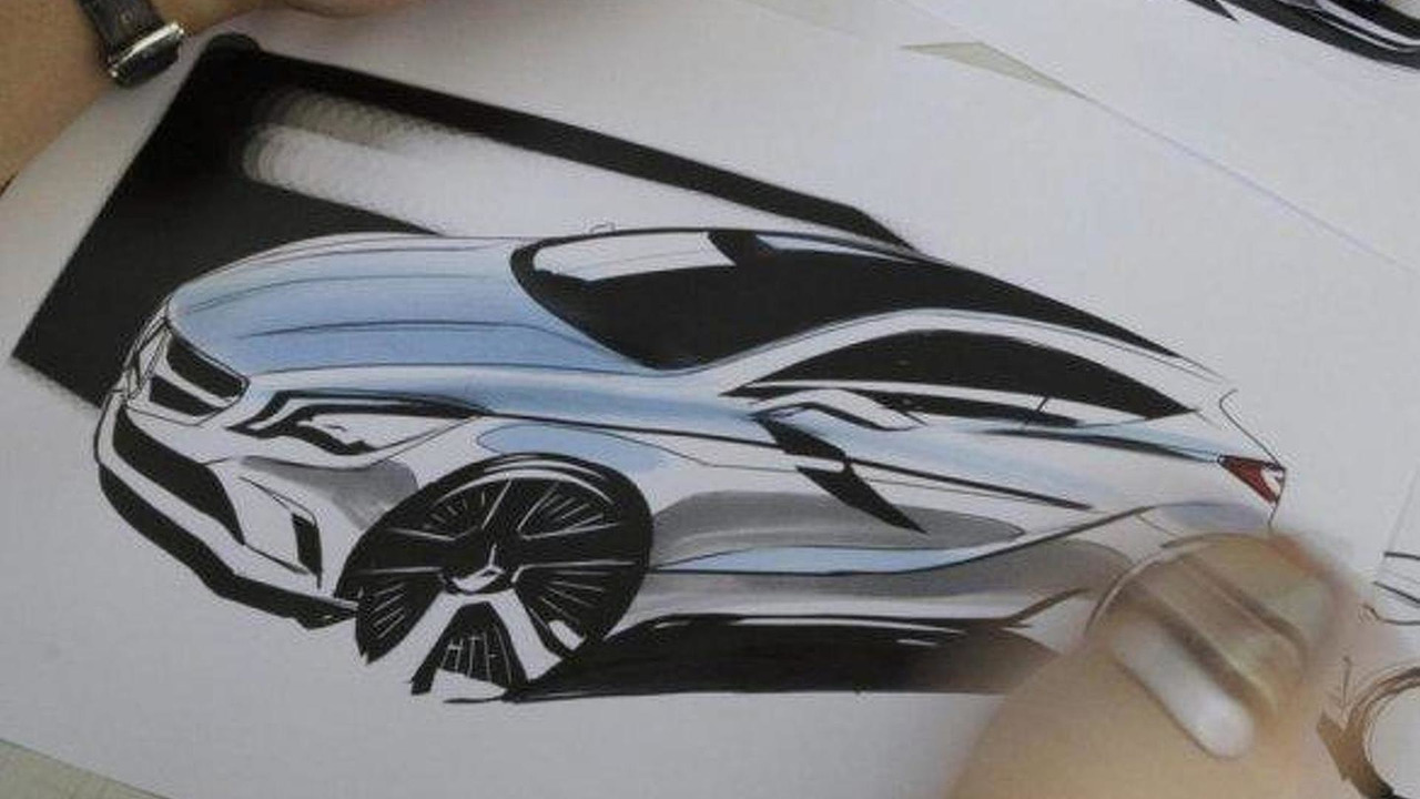 2012 Mercedes A-Class design sketch leak - 15.3.2011