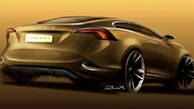 Volvo S60 Concept revealed ahead of Detroit
