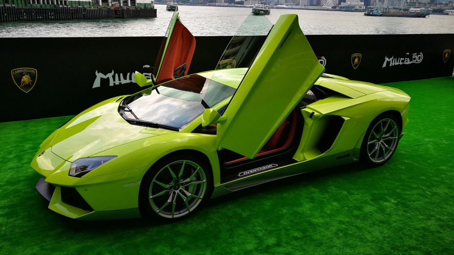 The only Lamborghini Aventador Miura Homage for Hong Kong costs $1 million