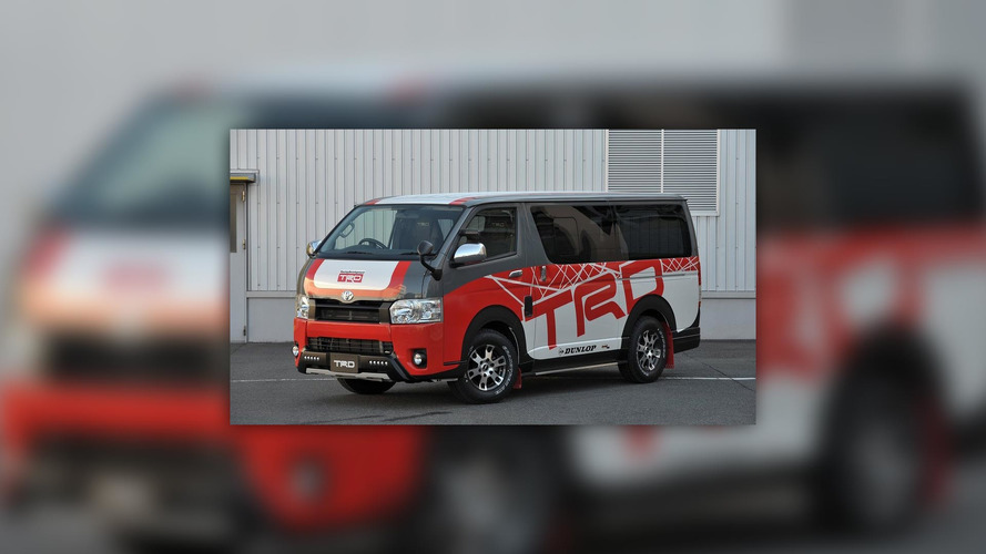 Toyota TRD at Tokyo Auto Salon