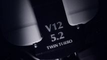 Aston Martin DB11 teaser reveals biturbo 5.2-liter V12 [video]