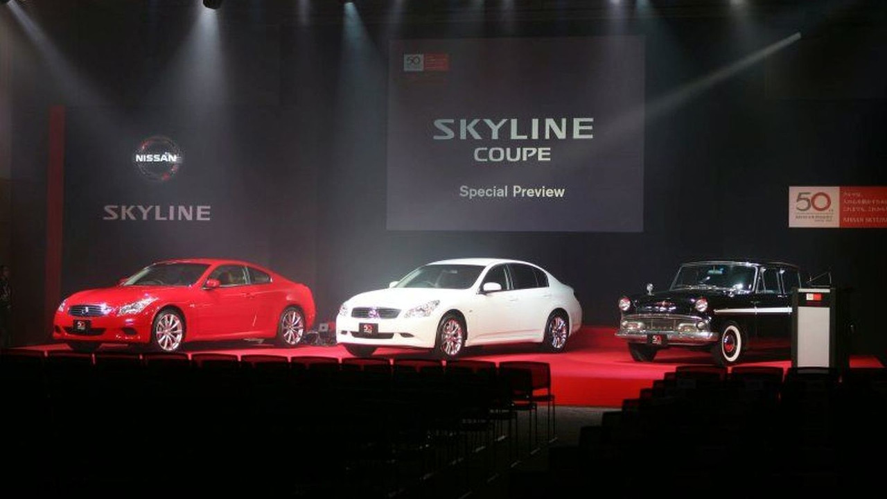 New Nissan Skyline Coupe