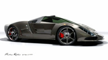 Supercar Art - Stingray Dream Design