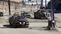 First Images of the Cars of Death Race