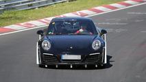 Next-gen Porsche 911 spy photo