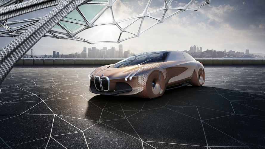 BMW Vision Next 100 concept detailed via 360-degree video