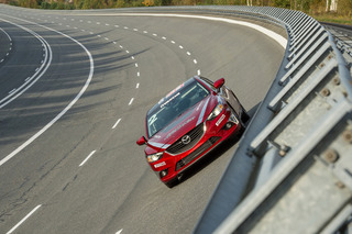 Mazda6 Diesel Sets World Speed Record