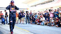 Max Verstappen, Red Bull Racing speaks on his phone