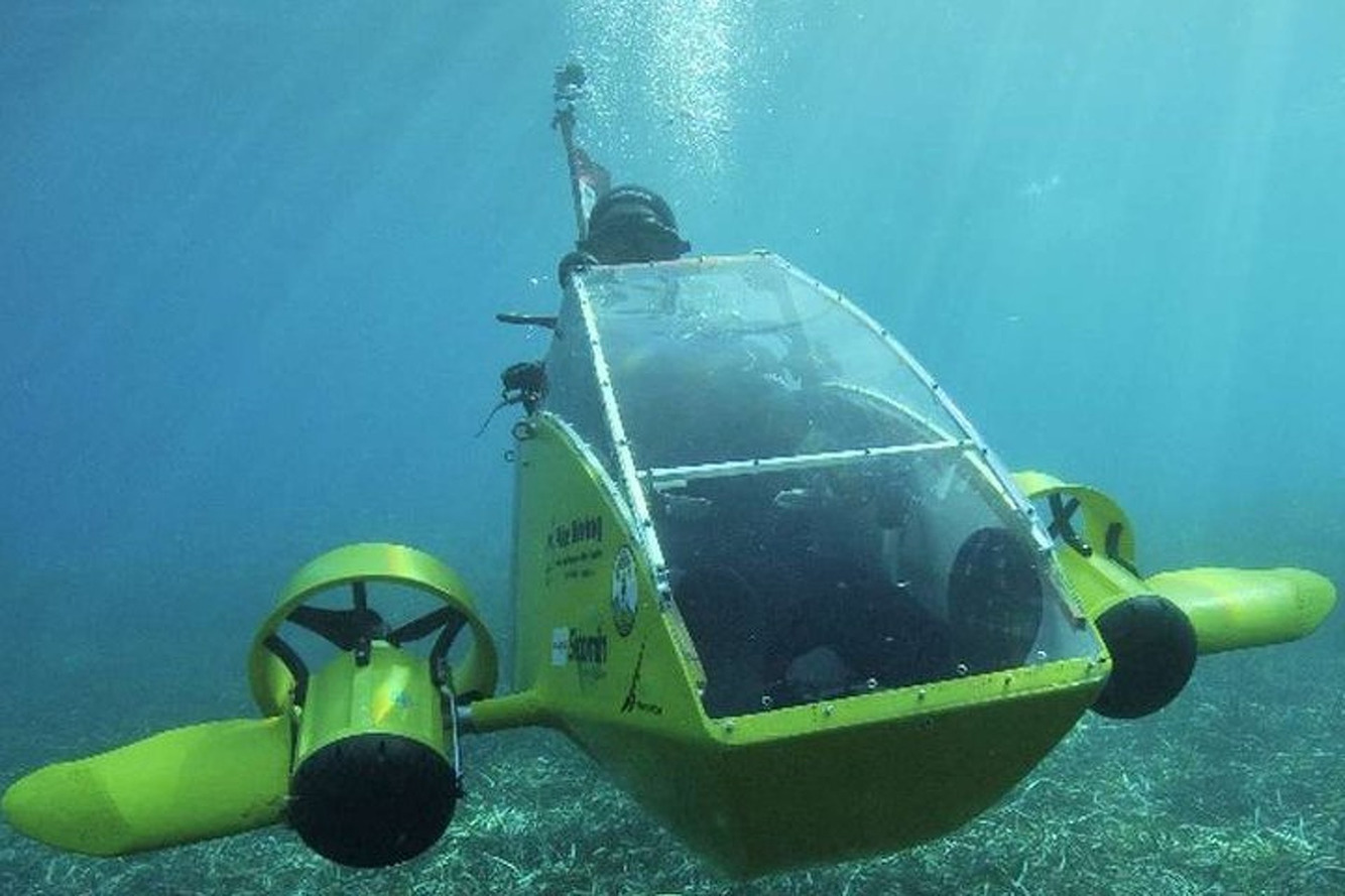 Scubster Is the Personal Electric Submarine We've Always Wanted
