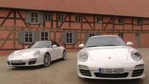 First Video: 2009 Porsche 911 Carrera 4 & 4S Facelift
