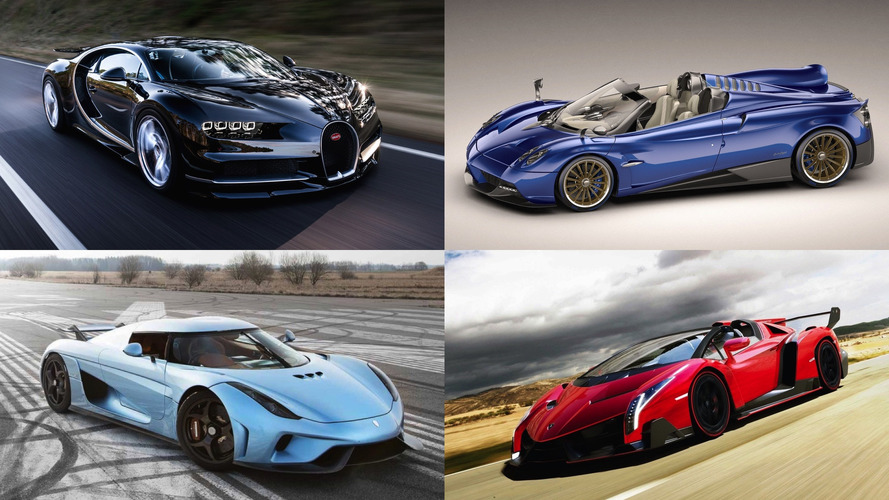 20 Most Expensive Cars Of 2017