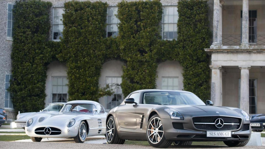 Mercedes-Benz bringing 1955 300 SLR Uhlenhaut Coupe and SLS AMG GT to Goodwood