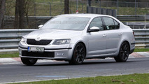 2014 Skoda Octavia RS spied almost without camo
