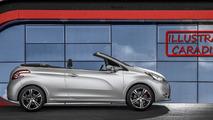 2015 Peugeot 208 Cabriolet render