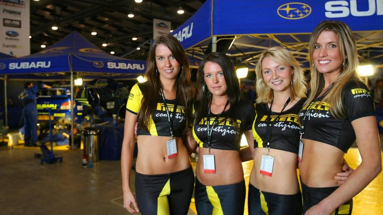 Pirelli Girls, World Rally Championship, 19.11.2006, New Zealand