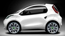 JAC IV Concept Previews smart Fortwo Rival