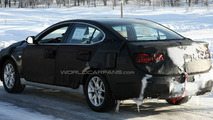 Kia VG Luxury Sedan Spied Winter Testing